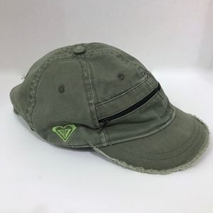 Roxy Paradise Army Green Hat with Pockets